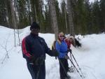 Les joies de la neige avec l'AJETESC