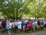 Pèlerinage diocésain à Notre-Dame de Mont-Roland