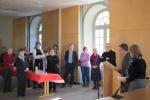 Les salariés du diocèse disent au revoir à Mgr Jordy