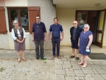 Couloirs humanitaires - accueil d'une famille à Poligny