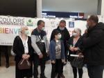 Couloirs humanitaires - la famille de réfugiés est bien arrivée à Poligny