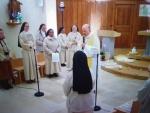 Les jeunes connectés pour la veillée de prière